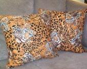 Tigers Eye - Fun PILLOWS, hand made in USA