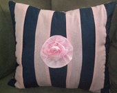 Prize Rose - Luxury PILLOW, hand made in USA