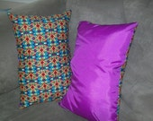 Stained Glass - Fun Pillow hand made in the USA