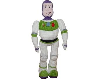 Amigurumi Crochet Pattern: Woody & Buzz from Toy story by ...