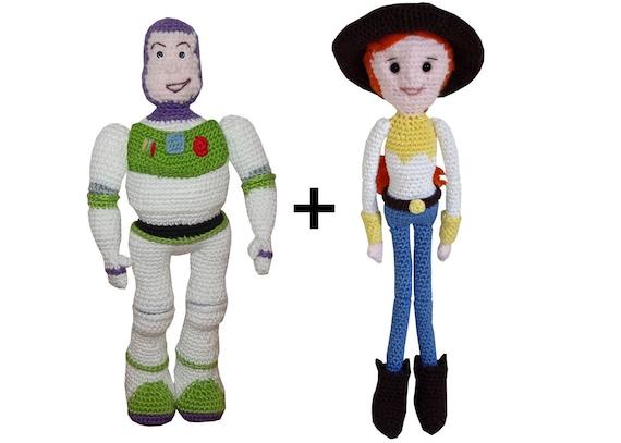 Toys Story Amigurumi : Amigurumi Crochet Pattern: Jessie & Buzz from Toy story