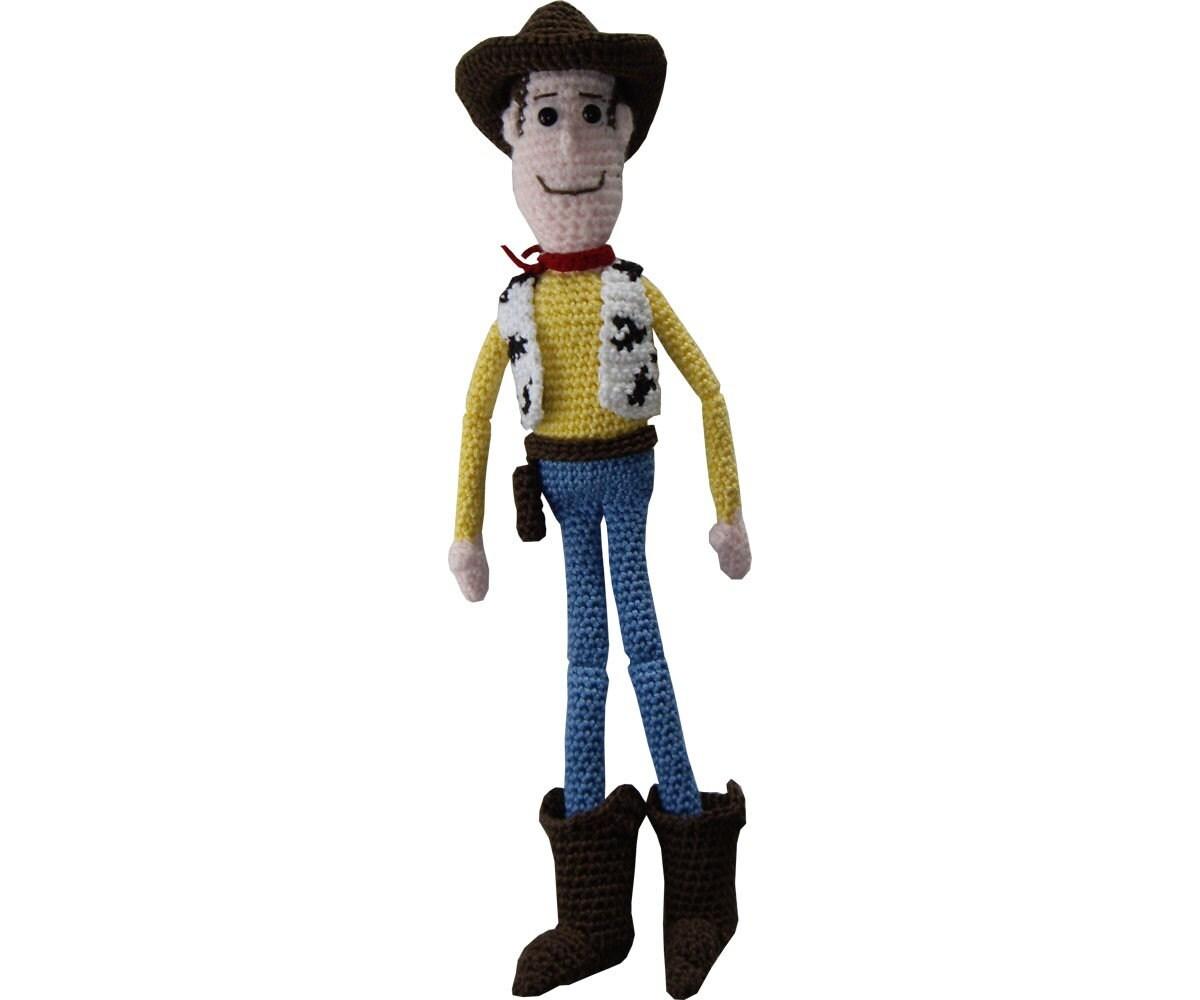 Amigurumi Toy Story : Amigurumi Crochet Pattern: Woody doll from Toystory by anumi