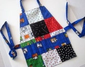 Sewing  Pattern PDF Art Apron Smock with Crayon Organizer Instant Download