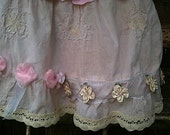 custom BIRTHDAY dress/ little girl/ party dress/ pink roses/  ribbons/  romantic/lace/prairie girl