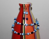 Into the Blue Necklace and Earring Set