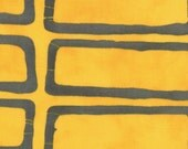A Stitch In Color by Malka Dubrawsky for Moda - Four by Four in Yellow Steel - Fat Quarter