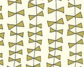 Lucy's Crab Shack by Sweetwater for Moda - Kite Ties in Cream Green - Fat Quarter