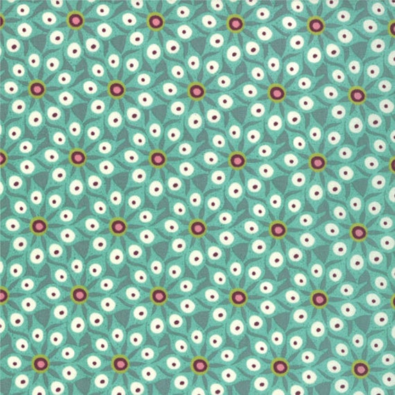 LAST YARD - Hello Luscious by Basic Grey for Moda - Floral Mix Match in Succulent