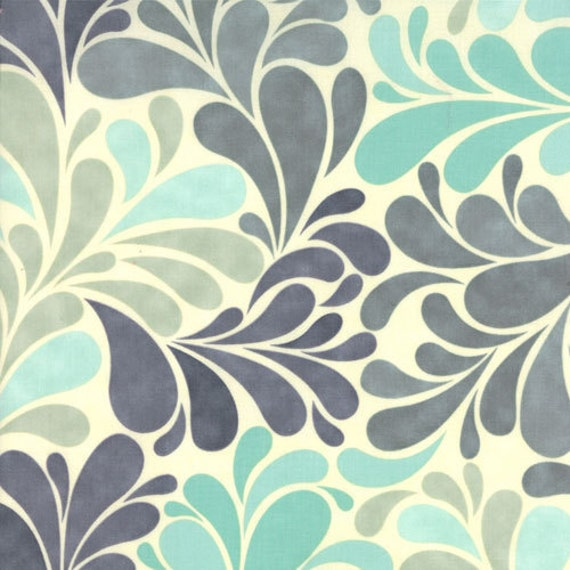Salt Air by Cosmo Cricket for Moda - Sea Garden in Mist - Fat Quarter