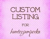 custom listing for hunterjumperka