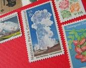 Vintage Stamps unused enough for 5 envelopes
