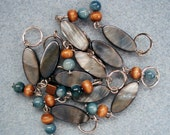 Shoalwater - beaded stitch markers