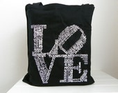 Valentine Love Tote Love is Patient Love is Kind Love Never Fails Love Canvas Tote Valentines Day Gift Bridesmaids Gift Maid of Honor Gift