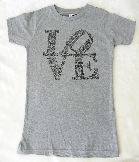 Love T-Shirt Love Never Fails S.M.L.XL Gift for Her