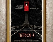 TRON 27x40 (Theatrical Size) Movie Poster