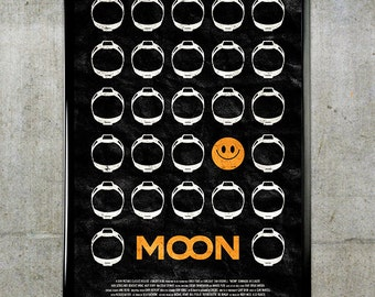 Moon 11x17 Movie Poster