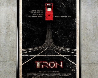 TRON 11x17 Movie Poster
