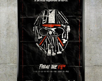 Friday the 13th 11x17 Movie Poster