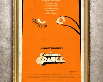 A Clockwork Orange 27x40 (Theatrical Size) Movie Poster