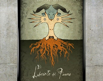 Pan's Labyrinth 11x17 Movie Poster