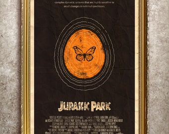 Jurassic Park 27x40 (Theatrical Size) Movie Poster