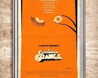 A Clockwork Orange 24x36 Movie Poster