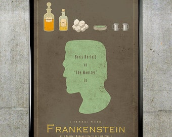 Frankenstein - Universal Monsters Series - 11x17 Movie Poster
