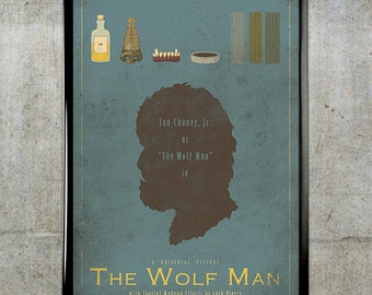 The Wolf Man - Universal Monsters Series - 11x17 Movie Poster
