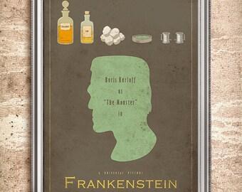Frankenstein - Universal Monsters Series - 24x36 Movie Poster