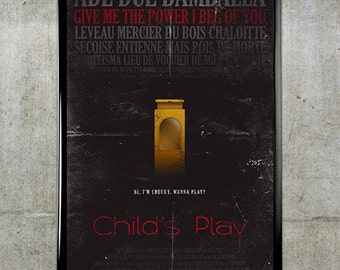 Child's Play 11x17 Movie Poster