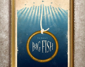 Big Fish 27x40 (Theatrical Size) Movie Poster