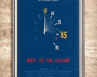 Back to the Future 24x36 Movie Poster