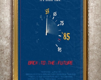 Back to the Future 27x40 (Theatrical Size) Movie Poster