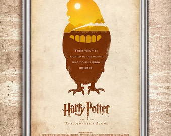 Harry Potter and the Philosopher's Stone 24x36 Movie Poster