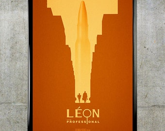 Leon: The Professional 11x17 Movie Poster
