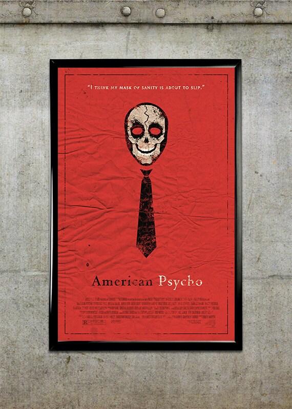 American Psycho 11x17 Movie Poster