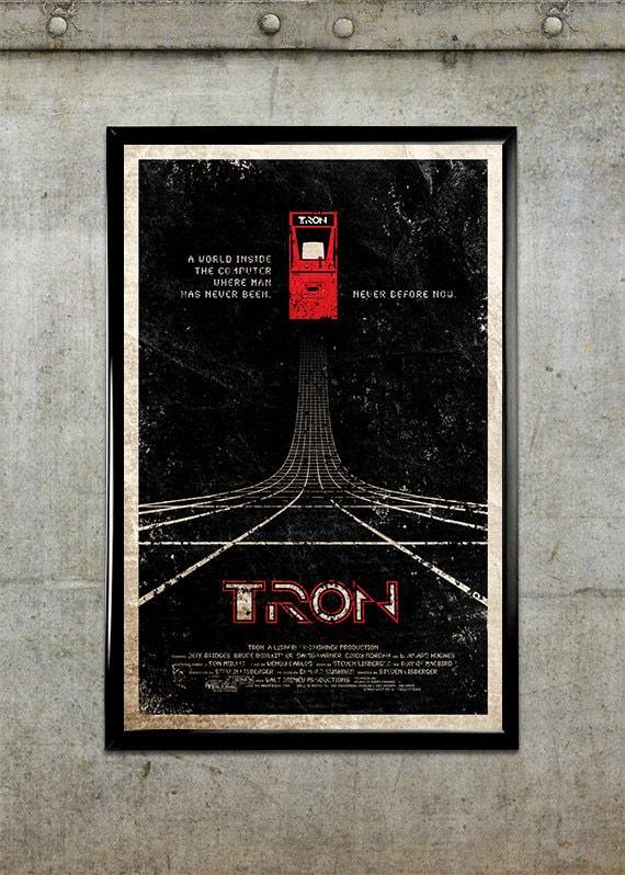 TRON 11x17 Movie Poster