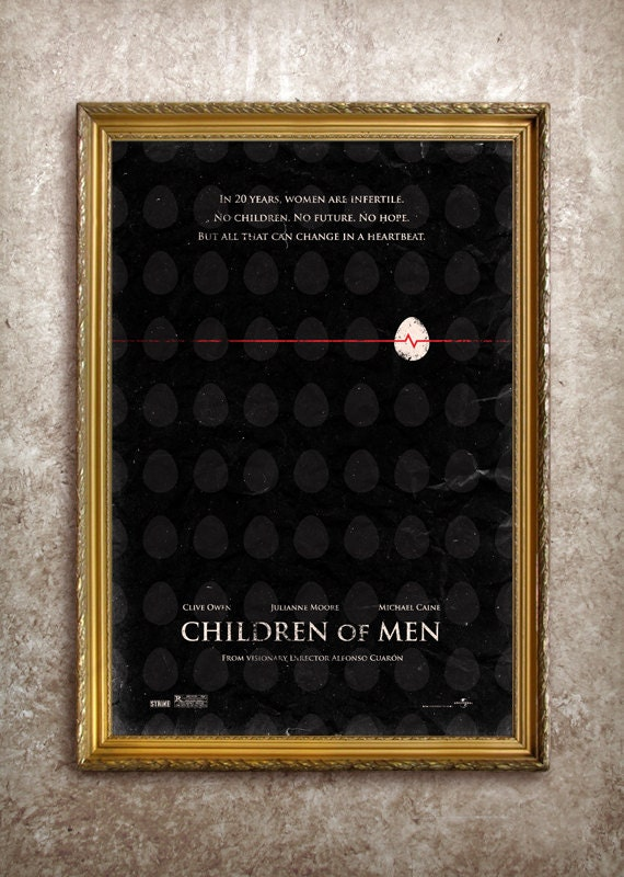 Children of Men 27x40 (Theatrical Size) Movie Poster