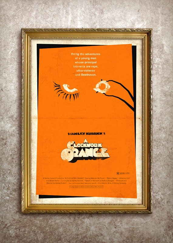 A Clockwork Orange 27x40 (Theatrical Size) Movie Poster