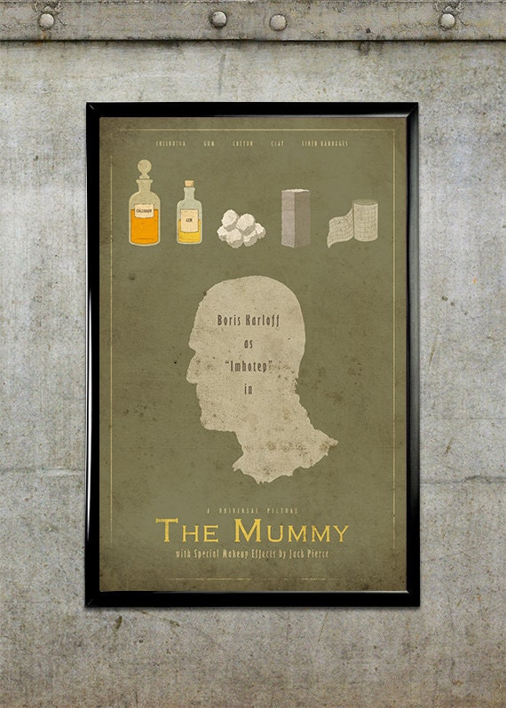 The Mummy - Universal Monsters Series - 11x17 Movie Poster