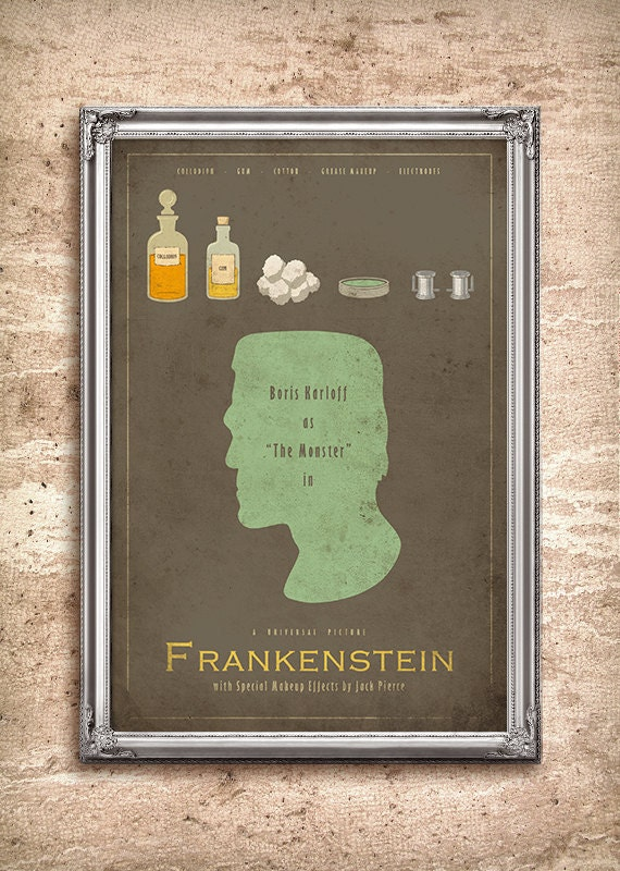 Frankenstein - Universal Monsters Series - 24x36 Movie Poster