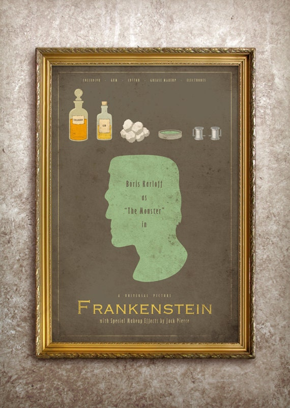 Frankenstein - Universal Monsters Series - 27x40 (Theatrical Size) Movie Poster