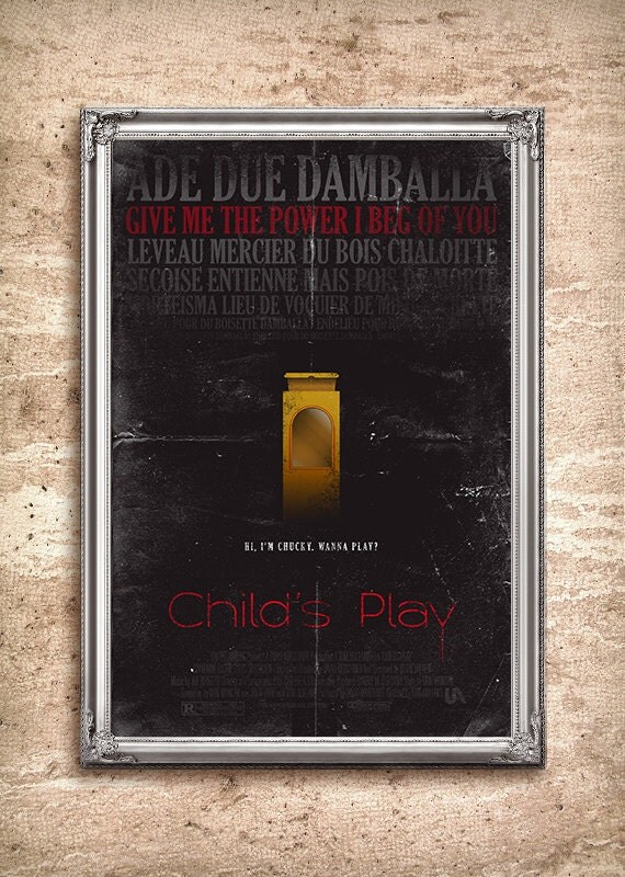 Child's Play 24x36 Movie Poster