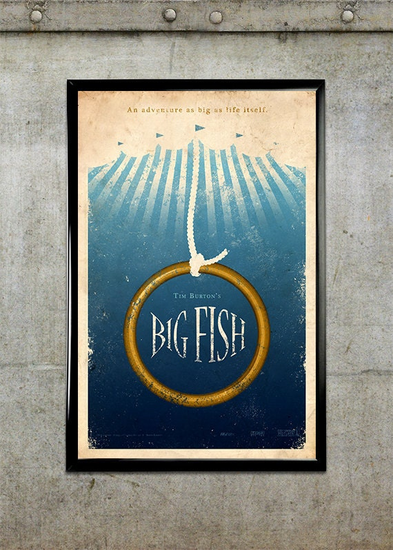 Big Fish 11x17 Movie Poster