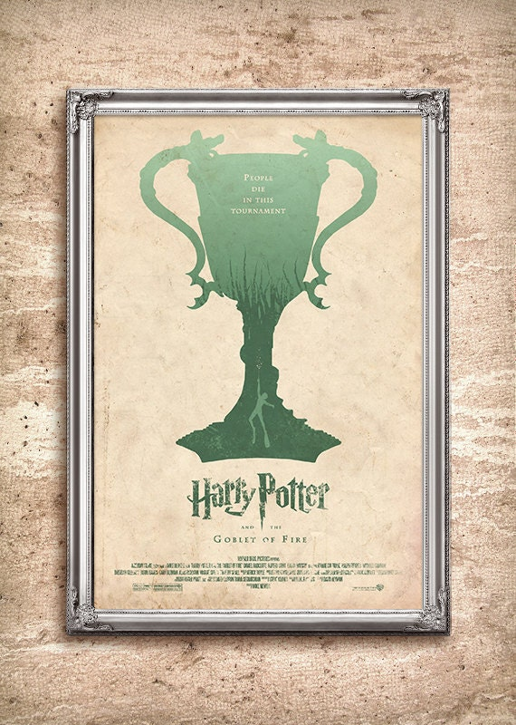 Harry Potter and the Goblet of Fire 24x36 Movie Poster