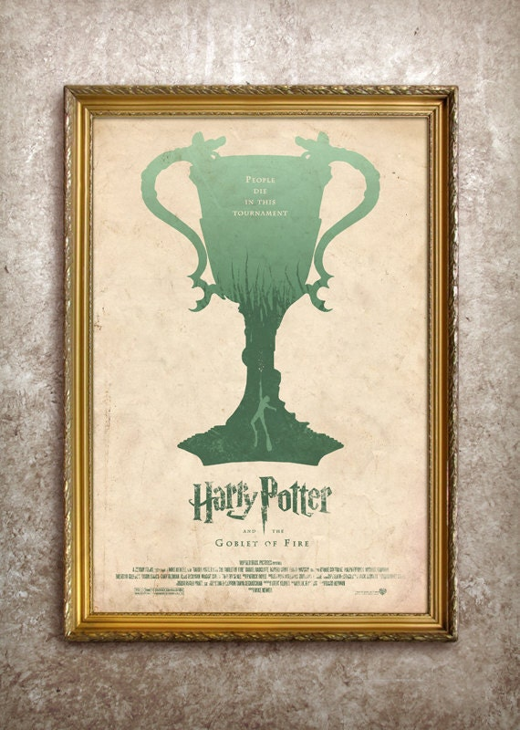 Harry Potter and the Goblet of Fire 27x40 (Theatrical Size) Movie Poster