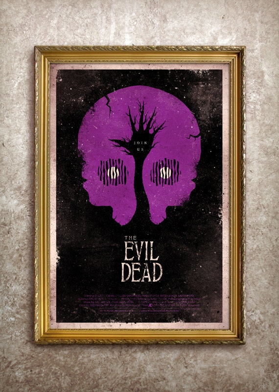 The Evil Dead 27x40 (Theatrical Size) Movie Poster