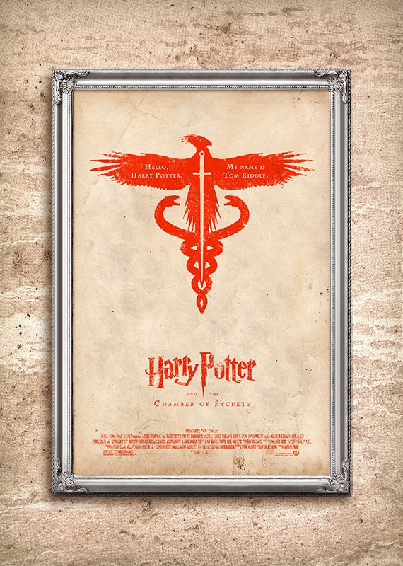 Harry Potter and the Chamber of Secrets 24x36 Movie Poster