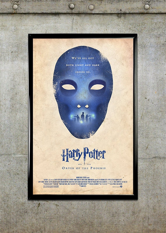 Harry Potter and the Order of the Phoenix 11x17 Movie Poster
