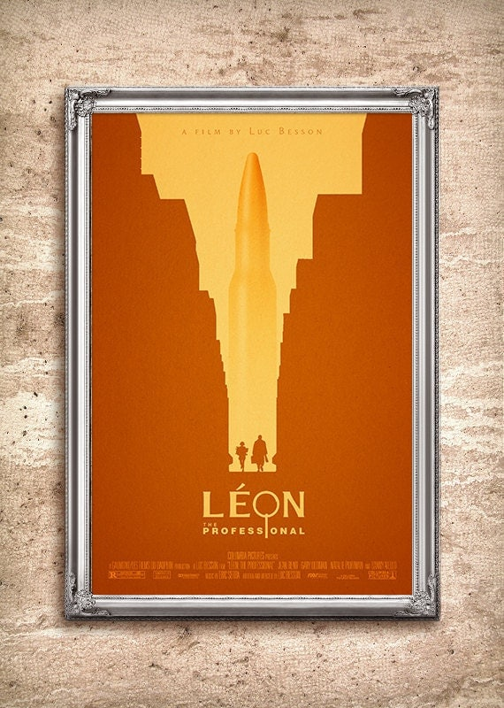 leon the professional 24x36 movie poster